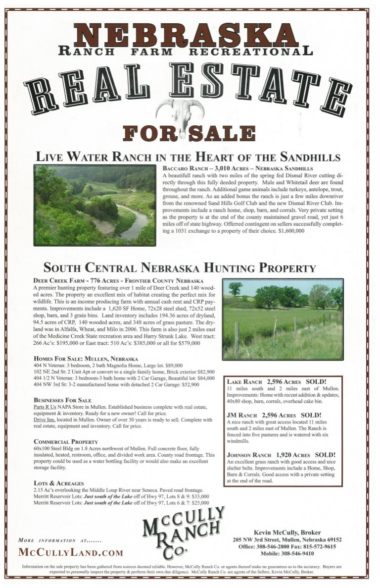 McCully Land Brokers Flyer