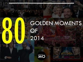 80 Golden Moments of 2014