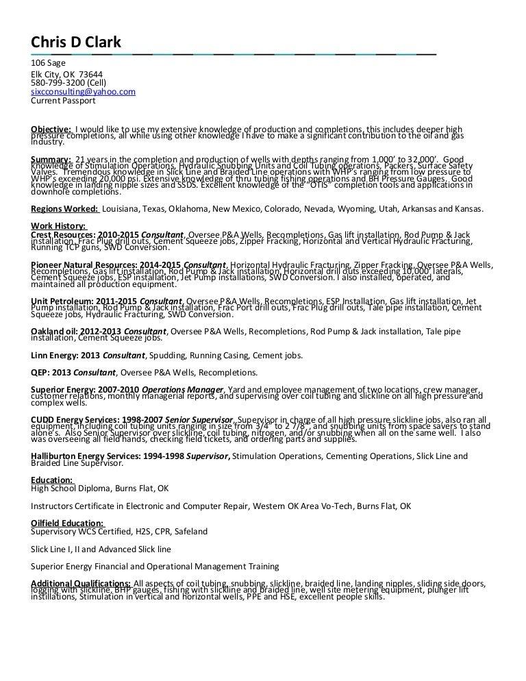 Chris Clark Resume