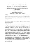 STATISTICAL ANALYSIS OF FUZZY LINEAR REGRESSION MODEL BASED ON DIFFERENT DISTANCES