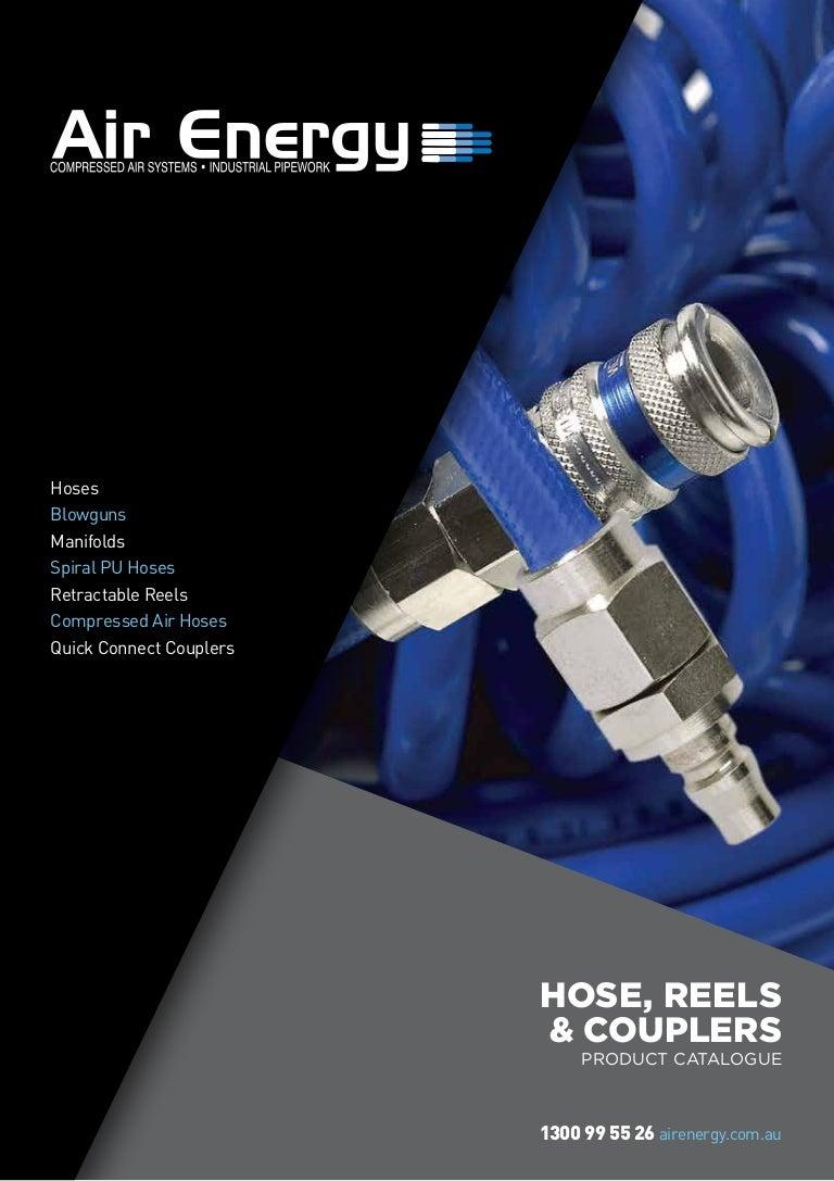 Air Energy Hosecoupler Brochure Email Quick Coupler 20ph