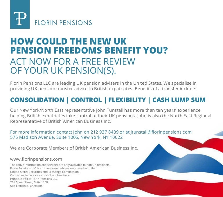Benefits of consolidating pensions advice
