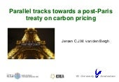 84th ICREA colloquium 'Carbon pricing and energy use pathways for staying within 2°C climate change' by Jeroen van den Bergh