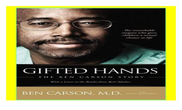 Gifted Hands: The Ben Carson Story paperback$@@
