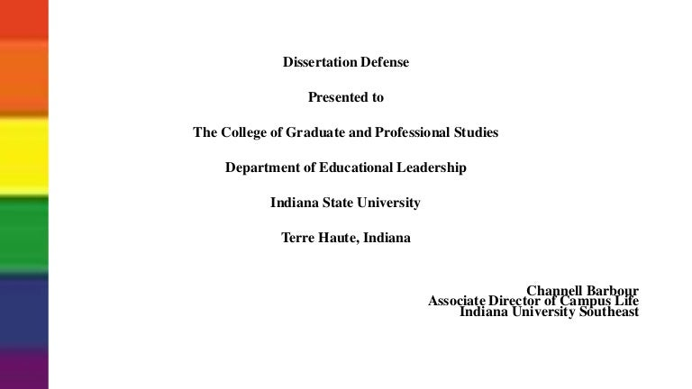 dissertation defence ppt Dissertation defense your failing ppt