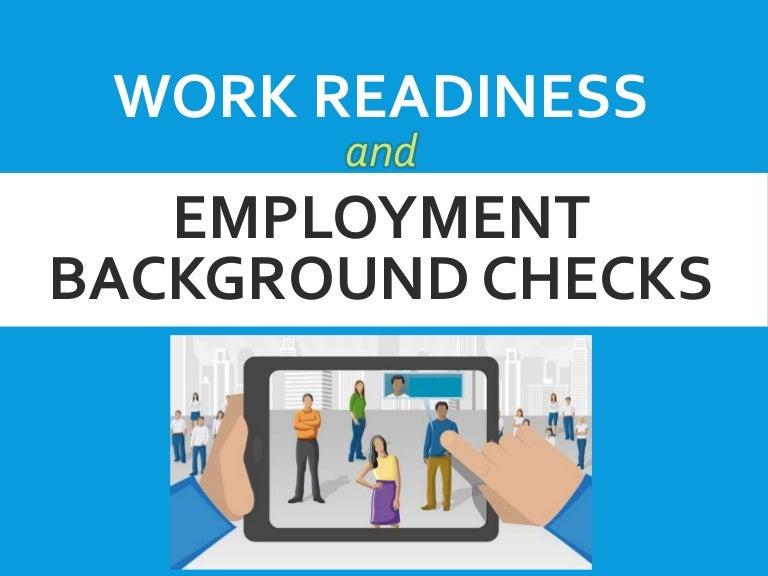 L1 Work Readiness Employment Bk Ck