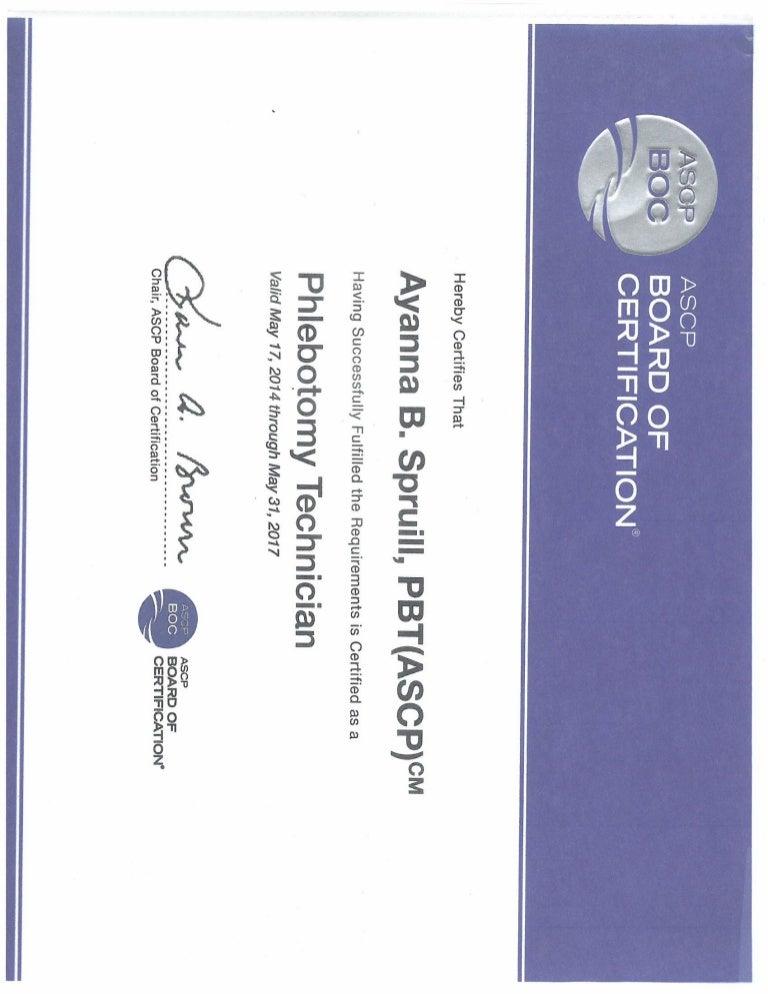 Ascp Certification