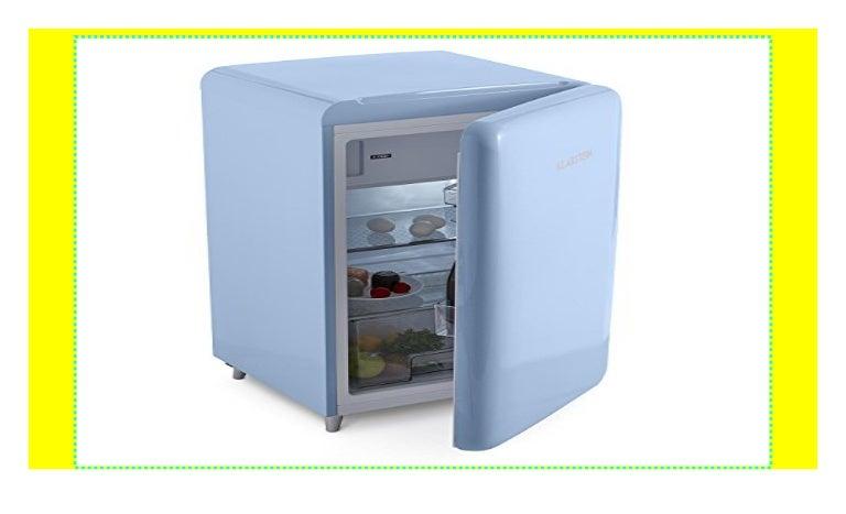Retro Kühlschrank Blau : Klarstein popart blue u2022 kühlschrank u2022 standkühlschrank u2022 retro look u2026