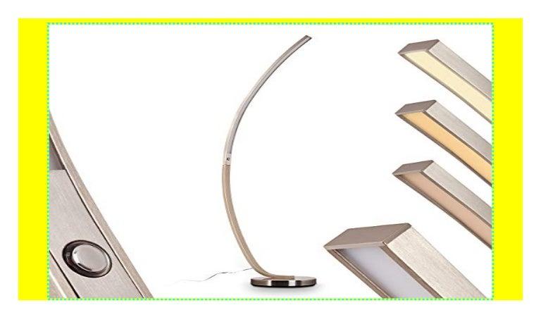 LED Stehlampe Design Bodenlampe Standleuchte Lampe Stehleuchte mit Touchdimmer