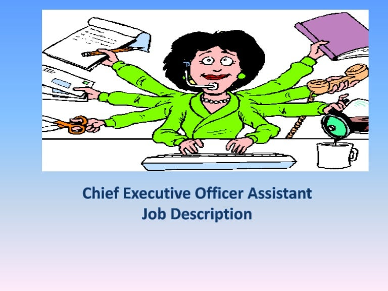 Ceo Pa Job Description