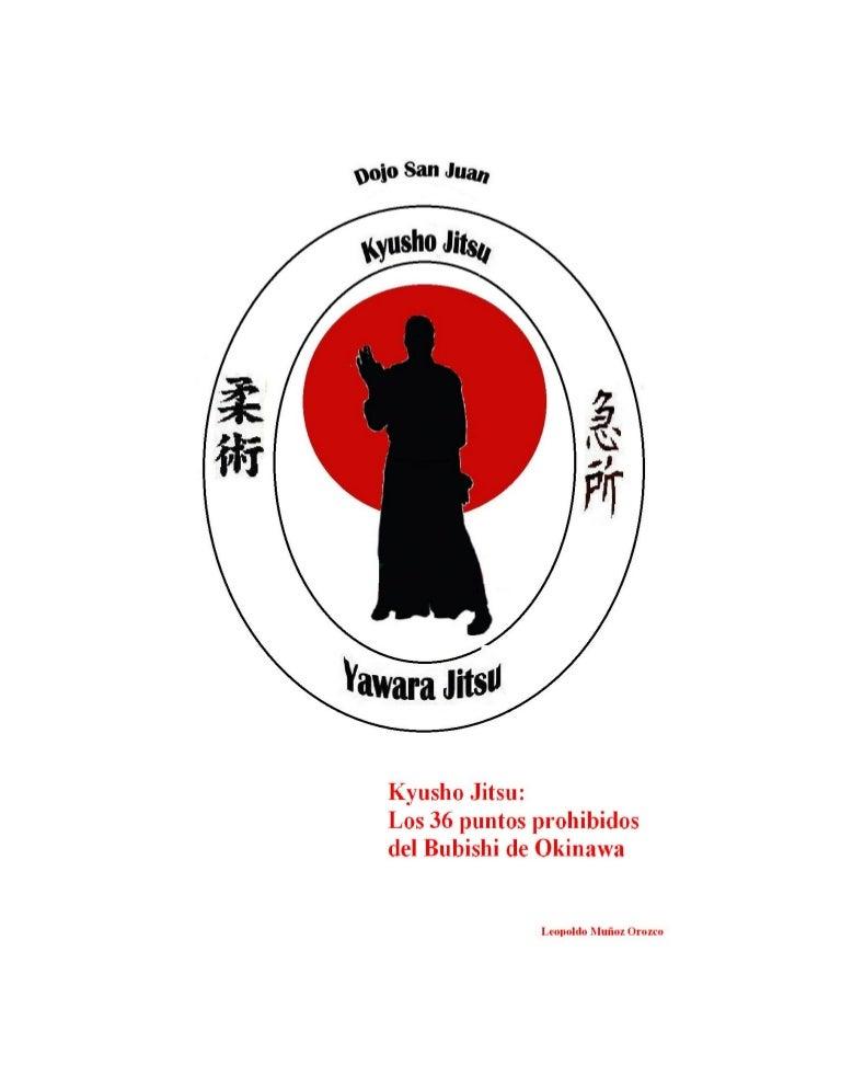 Kyusho Jitsu Los 36 puntos Prohibidos Del Bubishi de Okinawa -Aldo Co…