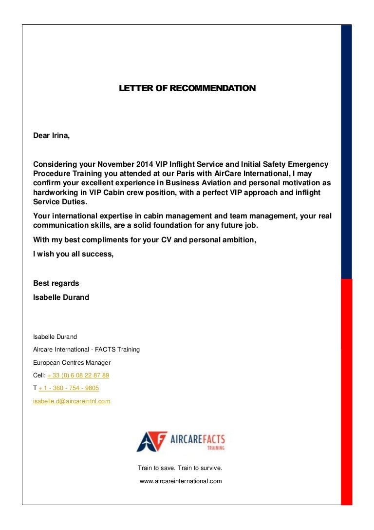 Facts letter of recommendation thecheapjerseys Gallery