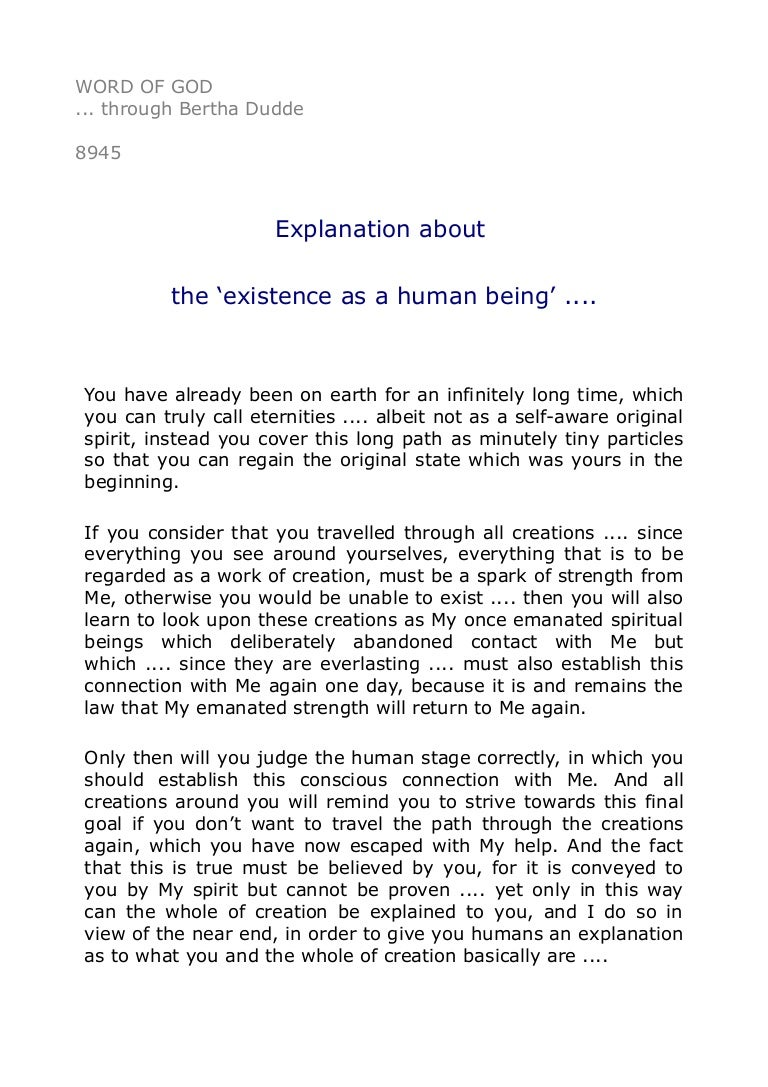 8945 explanation about the existence as a human being 8945 explanation about the existence as a human being madrichimfo Choice Image