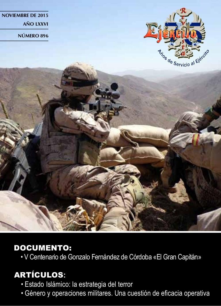 Revista Ejército nº 896 Mes de noviembre