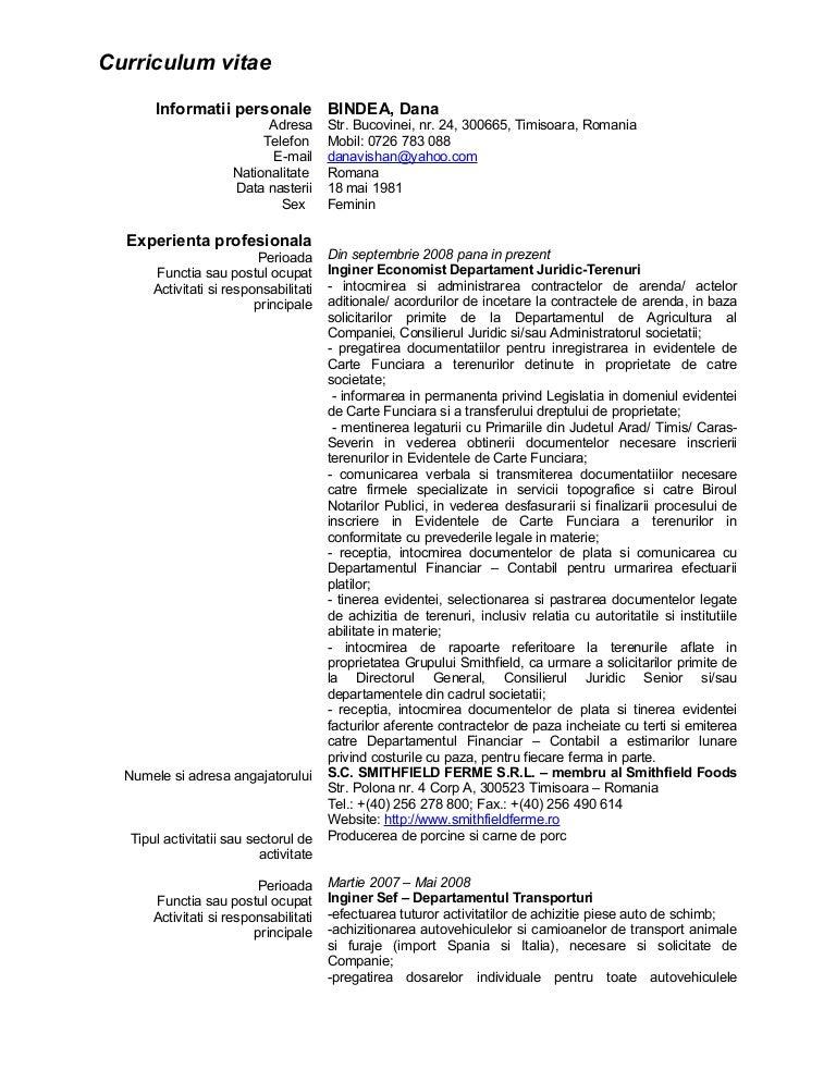 curriculum vitae european completat economist