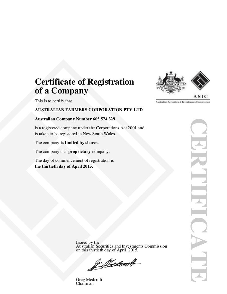 australian securities and investments commission register