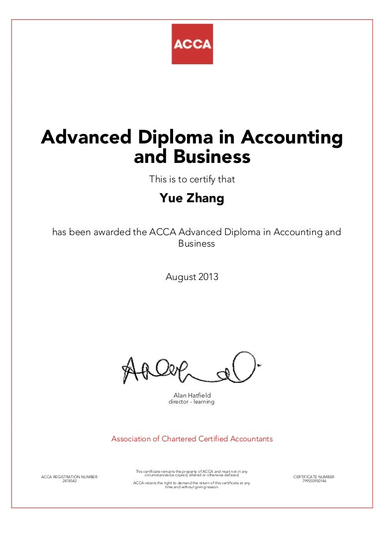 Acca diploma 1betcityfo Images
