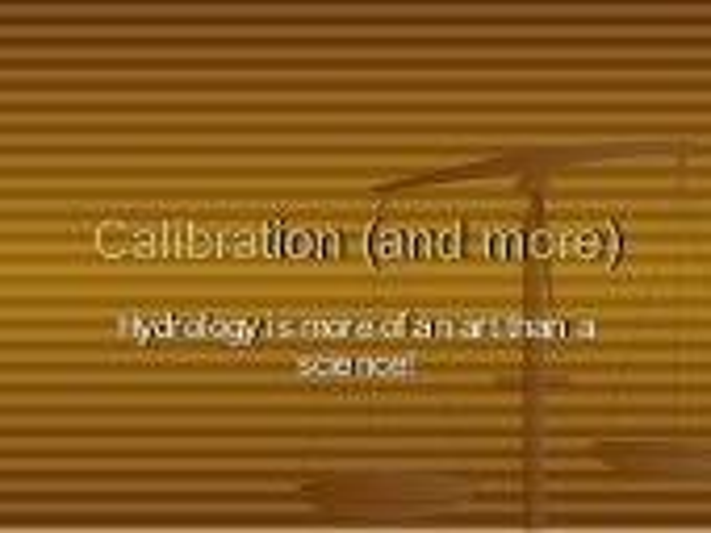 8 calibration