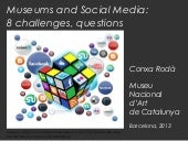 8 challenges for museums on social media