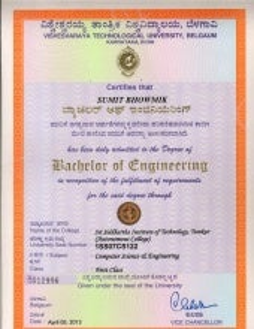 Vtu degree certificatepdf yadclub Choice Image