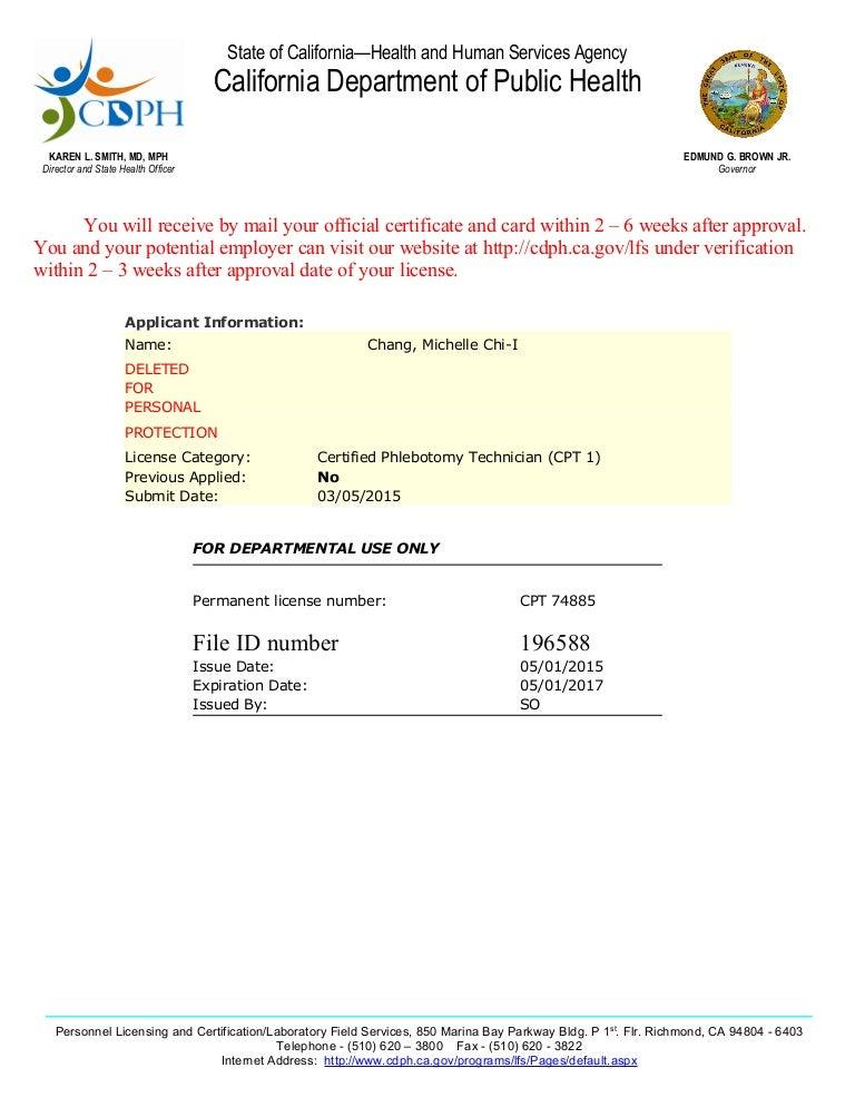 Cpt License