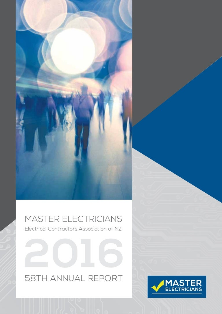 Master Electricians Annual Report 2016