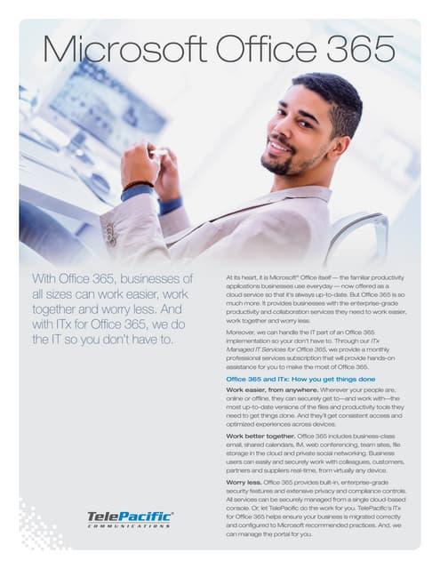 Office365 Brochure