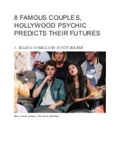 8 famous couples, hollywood psychic predicts their futures