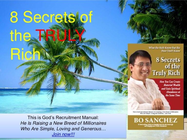 8 secrets of the truly rich free pdf