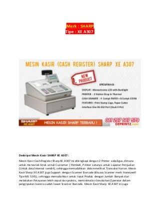 CALL/WA+081297 667 579 Distributor Mesin Kasir Di Semarang,
