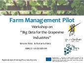 BigDataGrapes_Farm Management Pilot