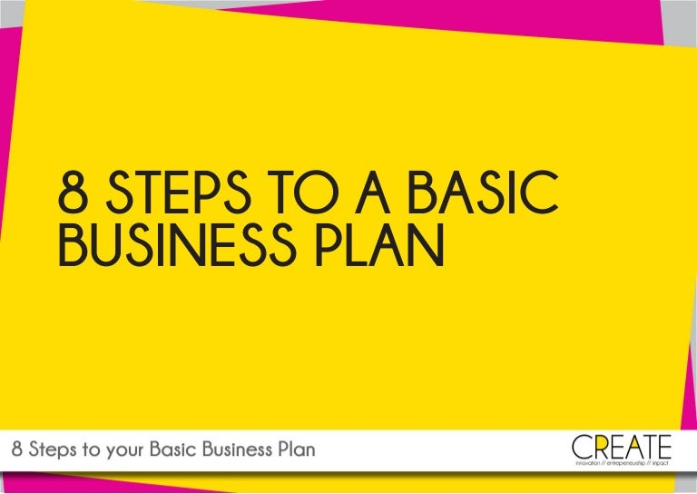 www createmedia ie 8 steps to your basic business plan
