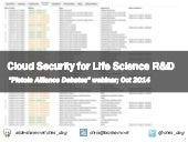 Cloud Security for Life Science R&D