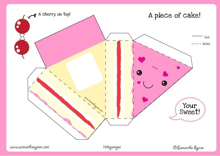 cake papercraft
