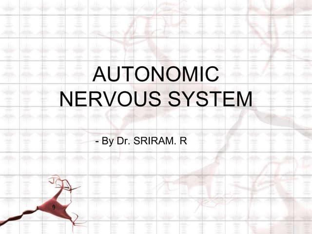 Autonomic nervous system in psychiatry