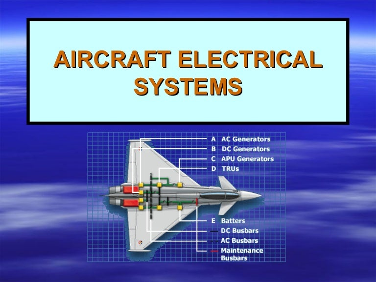9 aircraft electrical systems  wiring diagram electric aeroplane #12