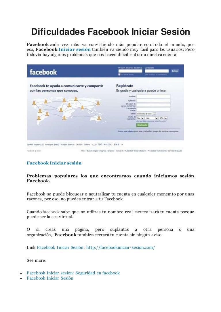 facebook iniciar sesion 4