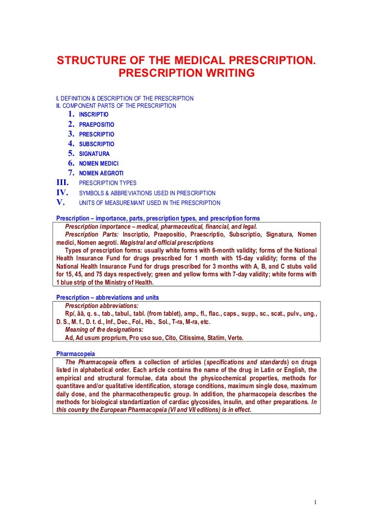 Medical symbols and meanings choice image symbol and sign ideas structure of the medical prescription buycottarizona choice image biocorpaavc Images
