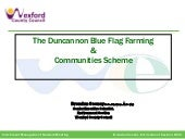 9. Duncannon Blue Flag farming and communities -  Brendan Cooney, Wexford County Council