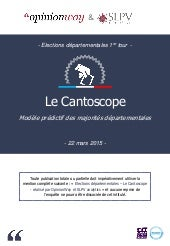L'Opinion et SLPV analytics - Le Cantoscope - Par OpinionWay - mars 2015