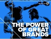 The Power of Great Brands