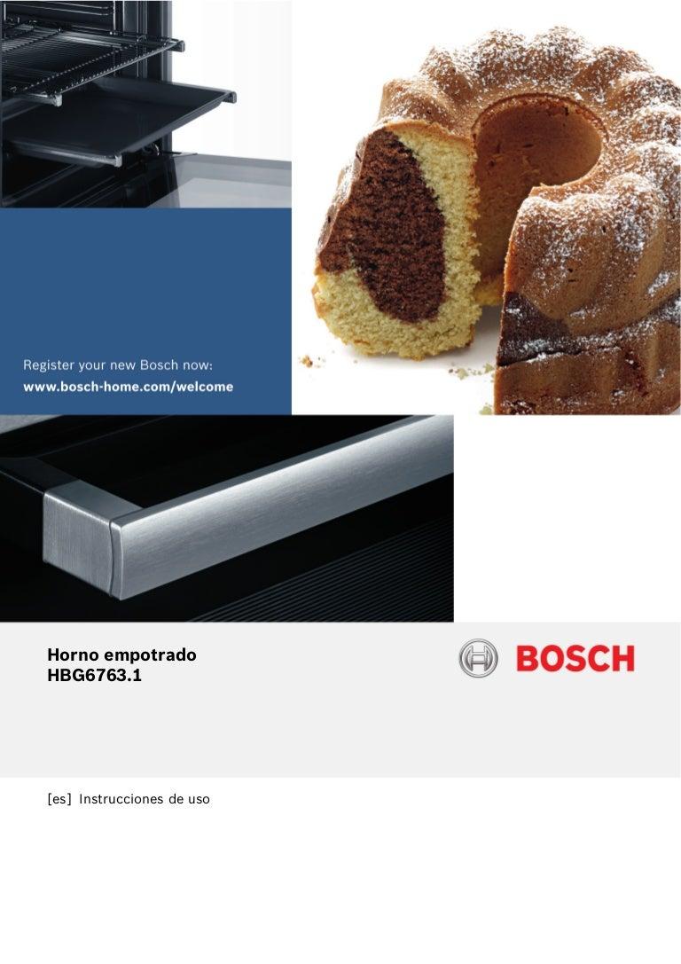 Horno BOSCH HBG6763S1