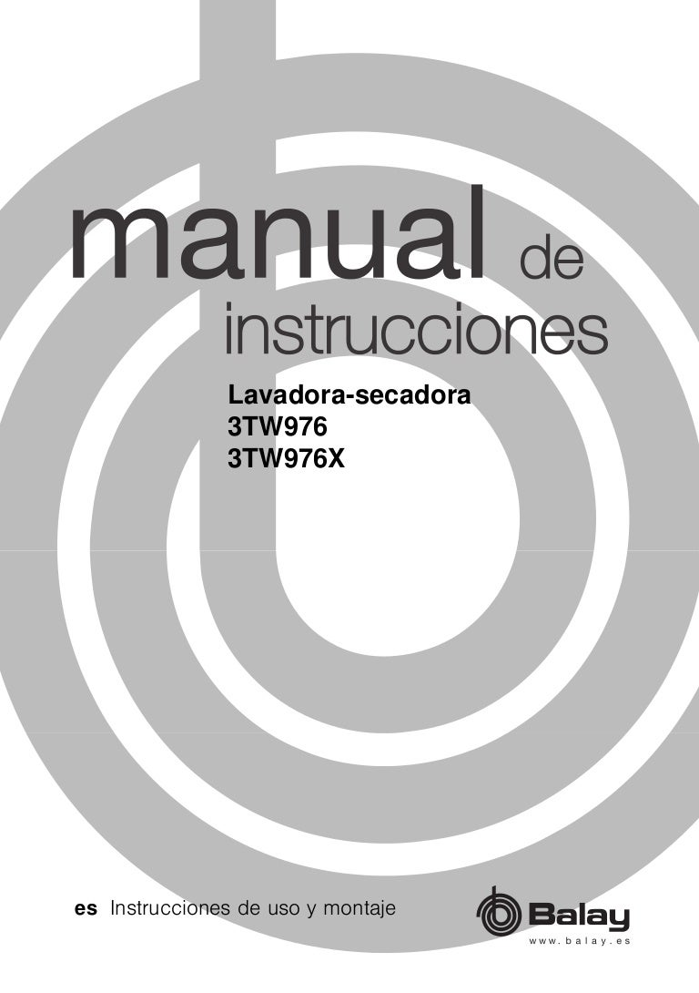Lavadora Balay 3TW976X