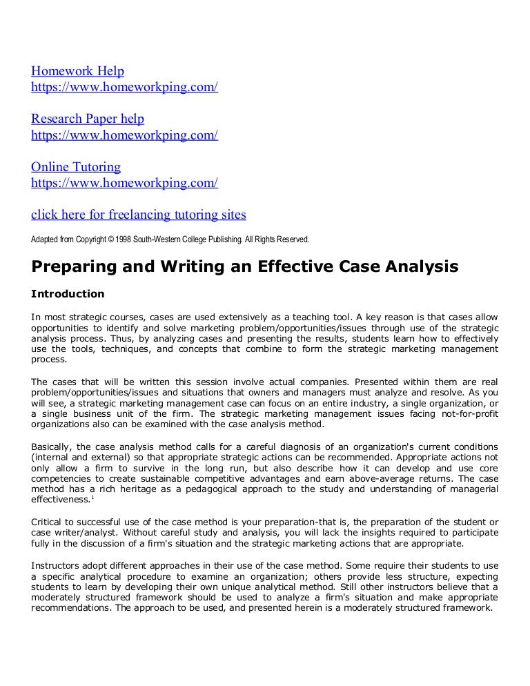 Howto Compose Research, a Synopsis, and Result Essay Report with Cases