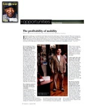The Profitability of Mobility by Jonah Engler.