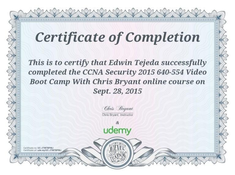udemy certificate vba certification completion macro excel skills scrum