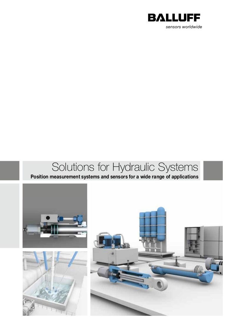 Balluff Solutions For Hydraulic Systems Wiring Diagram