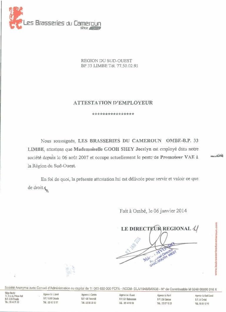Certificat Pour Faire Valoir Ce Que De Droit Resto Sud