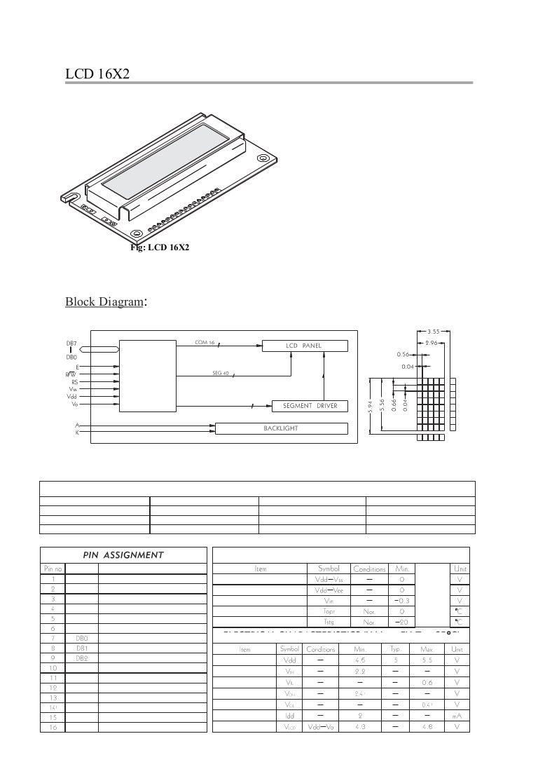 91 Appendix 16 X2 Lcd Block Diagram