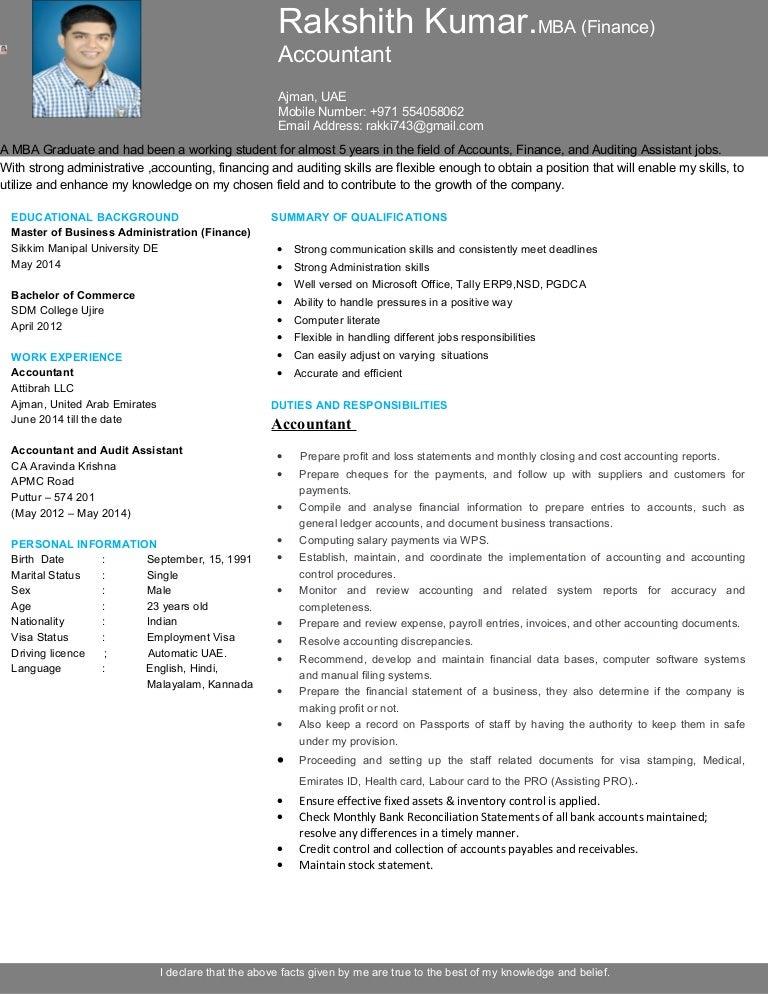 Rakshith kumar CV